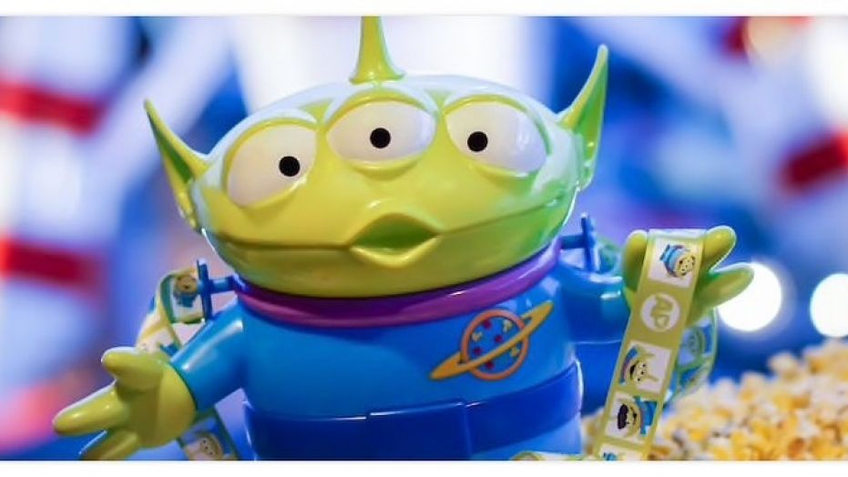 Disney Alien Popcorn Bucket